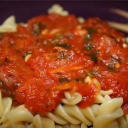 Spinach Marinara Sauce