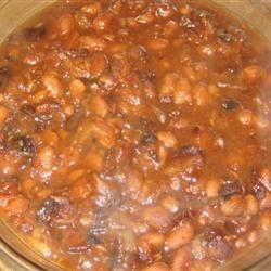 Maple and Ginger Baked Beans Recipe