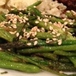 Stir-Fried Sesame Asparagus Recipe