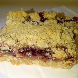 Raspberry Oatmeal Bar