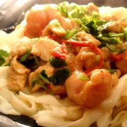 Turkey Stir Fry with Lychees Recipe