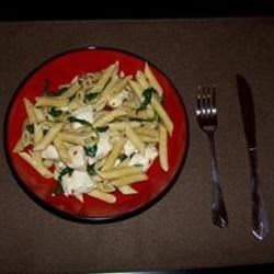 Image of Asparagus, Chicken And Penne Pasta, AllRecipes