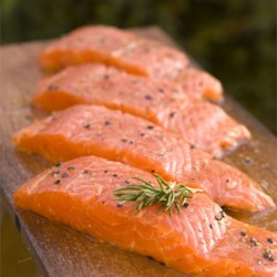 I sure love salmon