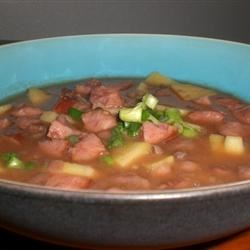 Black Bean, Sausage, and Sweet Potato Soup Recipe