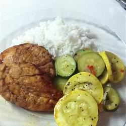 Grilled Lemon-Pepper Zucchini Recipe