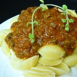 Very Special Spaghetti Sauce Recipe