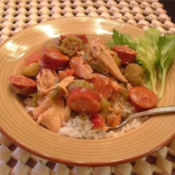 Chicken Andouille Gumbo Recipe