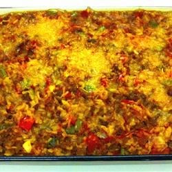 Spicy Sausage and Rice Casserole Recipe