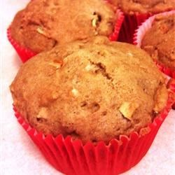 Low-Fat Apple Spice Muffins Recipe