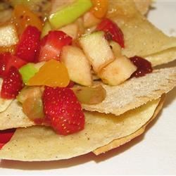 Image of Annie's Fruit Salsa And Cinnamon Chips, AllRecipes