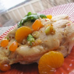 Mandarin Chicken Saute Recipe