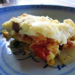 Photo of Vegetarian Moussaka by Anne Buchanan