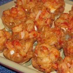Coconut Chili Crawfish Cups