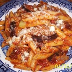 Penne with Eggplant Recipe