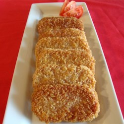 Breaded SPAM(R) Steaks Recipe