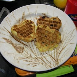 Light n' Fluffy Buttermilk and Chocolate Chip Waffles
