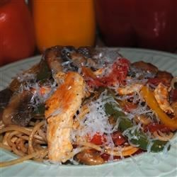 Skillet Chicken Pasta Recipe