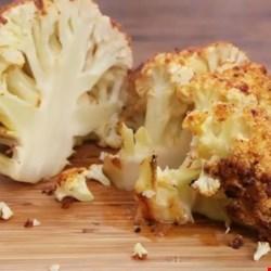 sriracha whole roasted cauliflower printer friendly