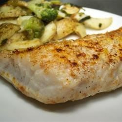 Flash Baked Walleye Fillets