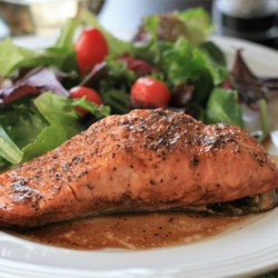 Easy, No-Mess Baked Salmon