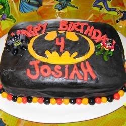Josiah's Batman Cake