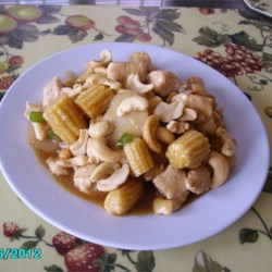 Cashew Chicken with Water Chestnuts Recipe