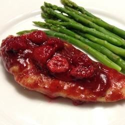 Gourmet Raspberry Chicken Recipe