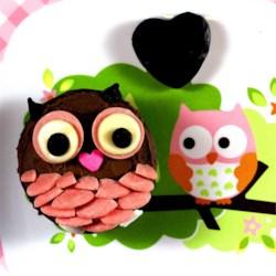 My Too Much Chocolate Cake Owl