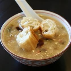 Photo of Pork and Century Egg Rice Congee by Lea Eats