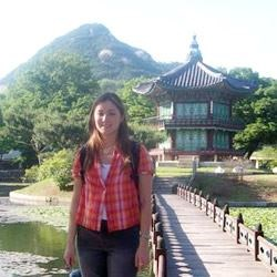 Korean palace gazebo