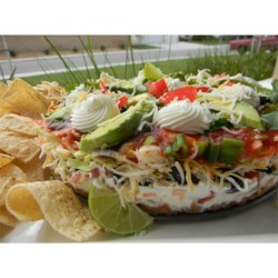 Bab's South of the Border Taco Dip Recipe