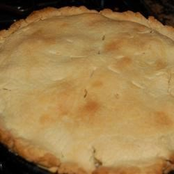 Sausage and Apple Pie