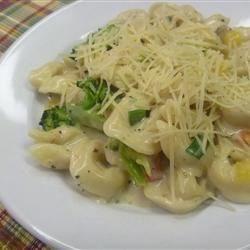 Photo of Tortellini Primavera with Garlic-Cream Sauce by Avon- status quo PRO
