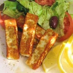 Halloumi Cheese Fingers Recipe