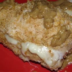 Apple Filled Chicken in Pecan Creme Sauce Recipe