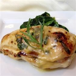 Cordon Bleu Rollups with Honey Mustard Wine sauce Recipe