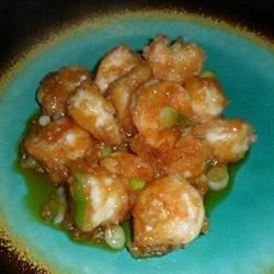 Slippery Shrimp Recipe