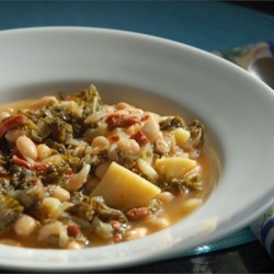 Portuguese Kale Soup Recipe