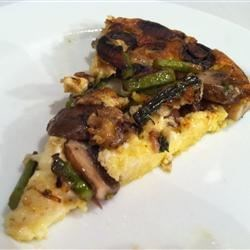 Photo of Asparagus and Mushroom Frittata by MAGGIDEW