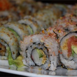 Japanese recipes allrecipes moms sushi rice recipe this traditional recipe for japanese sushi rice is lightly flavored with forumfinder Images