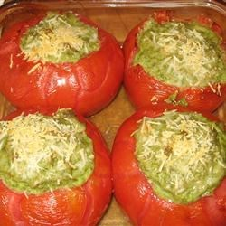 Kathy's Baked Stuffed Tomatoes Recipe