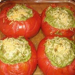 Kathy's Baked Stuffed Tomatoes