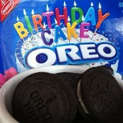 Birthday Cake Oreos