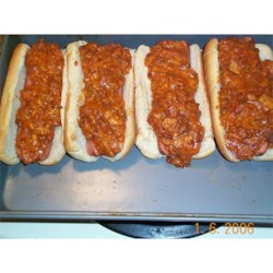 FRITOS(R) Chili Pie Chili Dogs Recipe