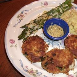 Photo of Perfect Crab Cakes With Green Onions by USA WEEKEND columnist Pam Anderson