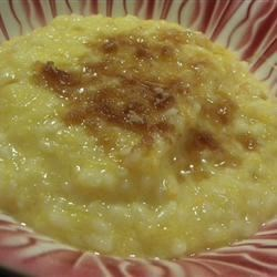 Korean Pumpkin Rice Pudding