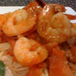 Alaskan Cod and Shrimp with Fresh Tomato Recipe