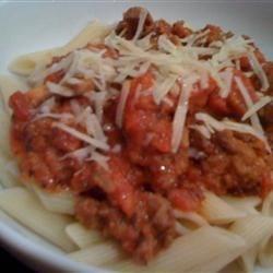 Karen's Creamy Tomato Pasta