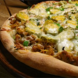BBQ Pork Pizza