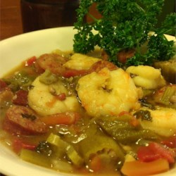 Husband's Grandmother's Shrimp Gumbo Recipe